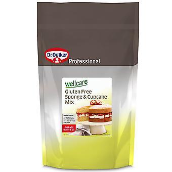 Dr. Oetker Wellcare Gluten frei Schwamm und Cupcake-Mix