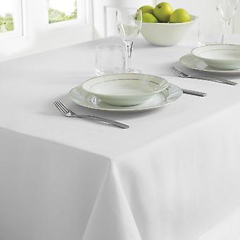 Country Club Table Cloth 130 x 228cm White