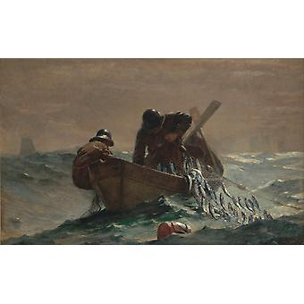 The Herring Net,Winslow Homer,60x40cm