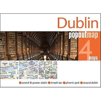 Dublin Popout Map by PopOut Maps - 9781910218471 Book