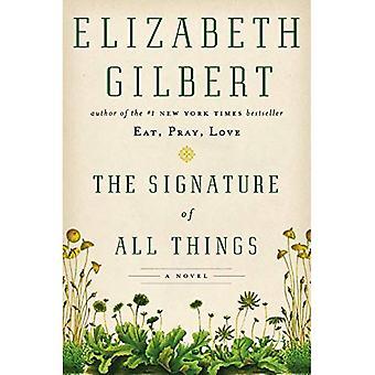 De handtekening van alle dingen
