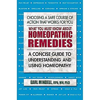 What You Must Know About Homeopathic Remedies: A Concise Guide to Understanding and Using Homeopathy