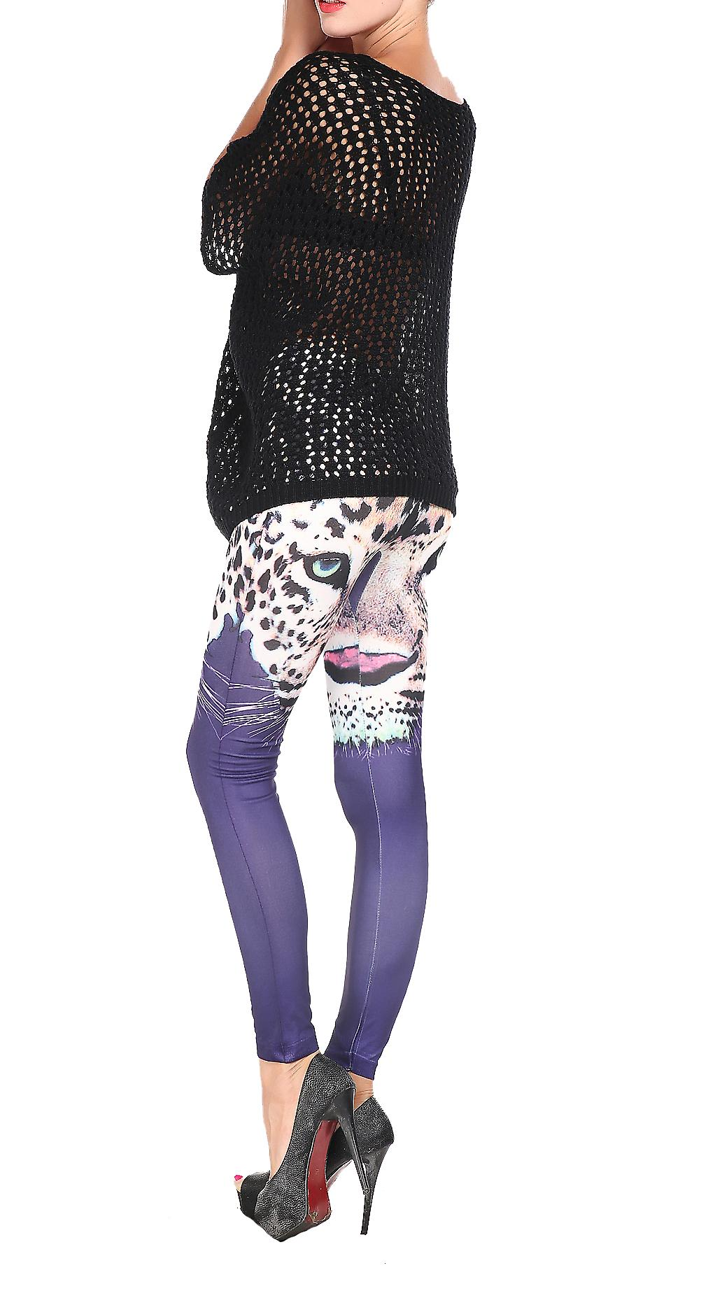 Waooh - Legging tiger head pattern Gouria