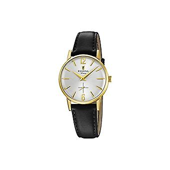 Festina ladies analogue watch with leather strap F20255/1