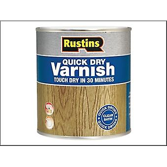 QUICK DRY VARNISH SATIN MAHOGANY 500 ML