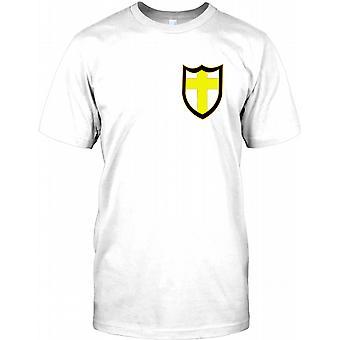 British 8th Army World War 2 - Chest Logo Mens T Shirt