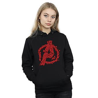 Marvel Women's Avengers Endgame Shattered Logo Hoodie