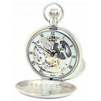 Woodford Silver Twin Lid Pocketwatch 1065 Watch
