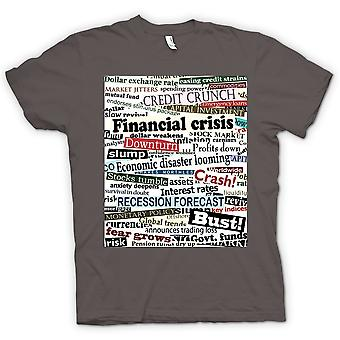 Womens T-shirt - Finanzkrise - Credit Crunch