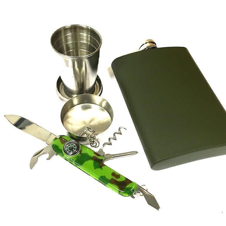 Hip-flask-set - fickplunta - 300 ml / 10 oz -