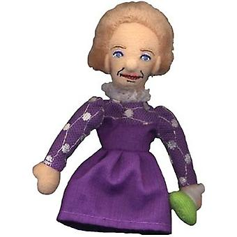Finger Puppet - UPG - Marie Curie Soft Doll Toys Gifts Licensed New 0296