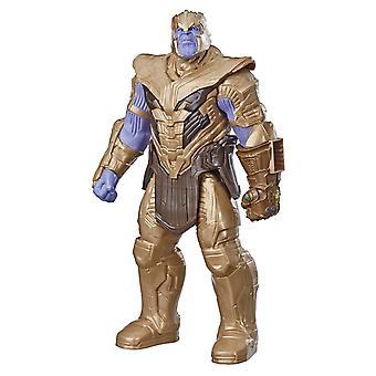 Marvel Avengers: Endgame Titan Hero Series Thanos Figure Power FX Port