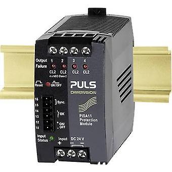 PULS DIMENSION PISA11.CLASS2 Overvoltage/overcurrent protector 24 Vdc 3.7 A 4 x