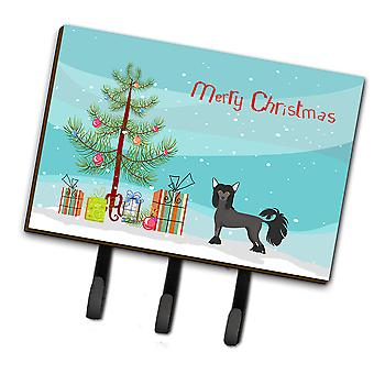 Chinese Crested Christmas Tree Leash or Key Holder