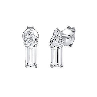 Elli Premium Silver Women's Pin Earrings 312451817