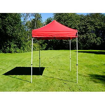 Vouwtent/Easy up tent FleXtents Easy up pavillon Basic v.2, 2x2m Rood