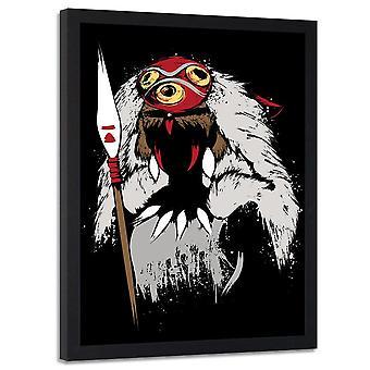 Poster In Frame, African Warrior