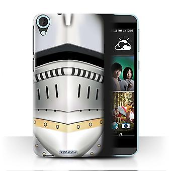 STUFF4 Case/Cover for HTC Desire 820q Dual/Renaissance Helmet/Knight Armour