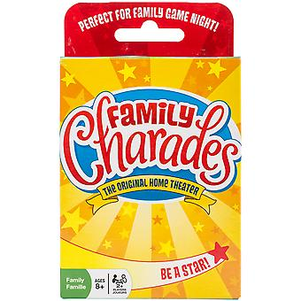 Family Charades Card Game- OM19166