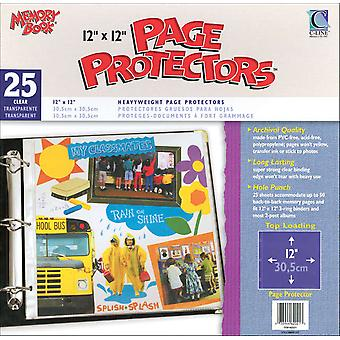 Memory Book Top Load Page Protectors 12
