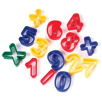 Creativity Street Dough Cutters 14 Pkg Numbers 9772
