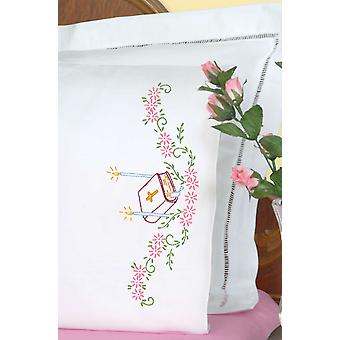 Stamped Pillowcases With White Perle Edge 2 Pkg Bible 1600 950
