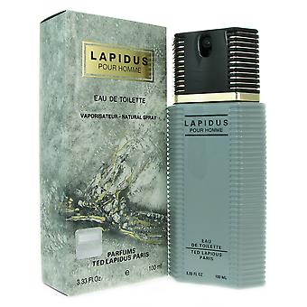 Lapidus for Men by Ted Lapidus 3.33 oz 100 ml EDT Spray
