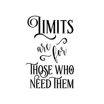 Limits Are For Poster Print by  Tara Moss