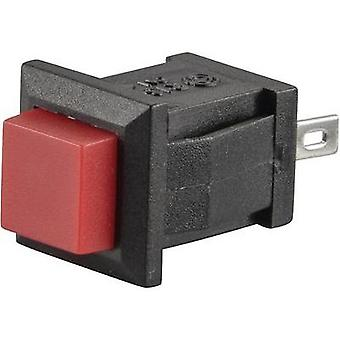 Pushbutton 250 Vac 0.5 A 1 x Off/(On) SCI R13-57A-05 RED ACTUATOR momentary 1 pc(s)