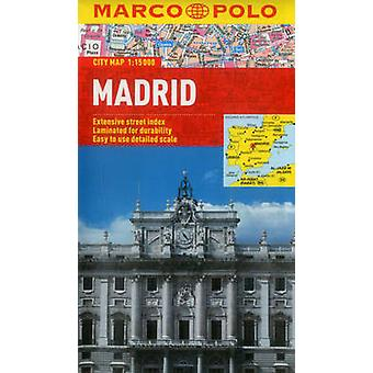 Madrid City Map by Marco Polo