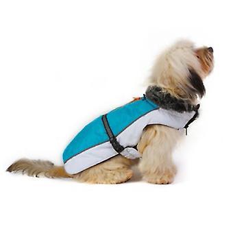Dog Gone Smart Aspen jakker Aqua / hvid 26