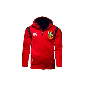 Canterbury British & Irish Lions 2017 Kids Full Zip Fleece Hooded Rugby Sweat