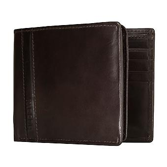 Bugatti Trenta men's apparent bag purse wallet purse Brown 5189