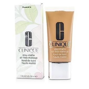Clinique Stay Matte Oil Free Makeup - # 14 Vanille (MF-G) - 30ml / 1oz