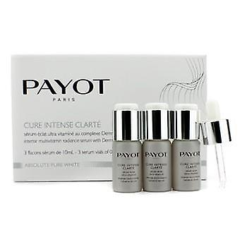 Payot Absolute Pure White Intense Multivitamin Radiance Serum - 3x10ml/0.34oz