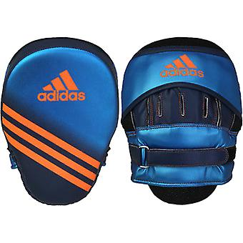 Adidas gebogen Speed Training Foucs Mitt - Metallic blauw/collegiale Navy