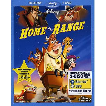 Home on the Range [BLU-RAY] USA import