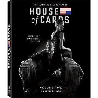 House of Cards: The Complete Second Season [BLU-RAY] USA import