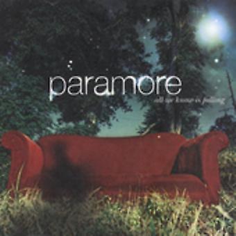 Paramore - alle vi kender er faldende [CD] USA import