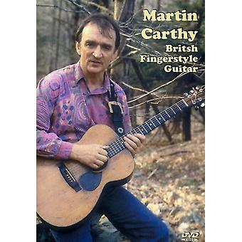 Martin Carthy - importación de los E.e.u.u. de la guitarra de Fingerstyle británico [DVD]