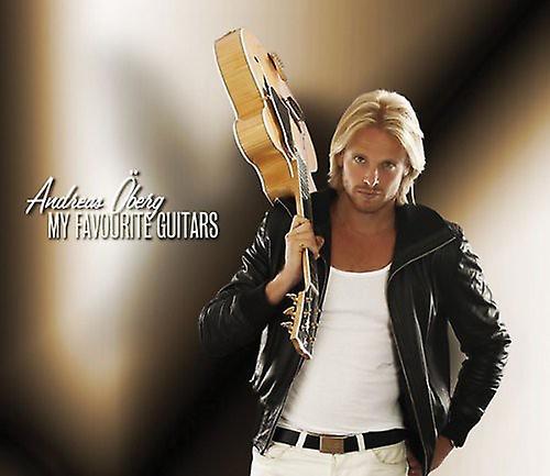 Andreas Oberg - My Favorite Guitars [CD] USA import