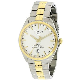 Tissot PR100 Two-Tone Mens Watch T1014512203100