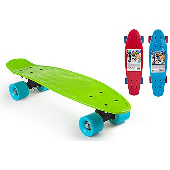 Colorbaby Monopatín plástico 60 cm (Outdoor , On Wheels , Skateboards)