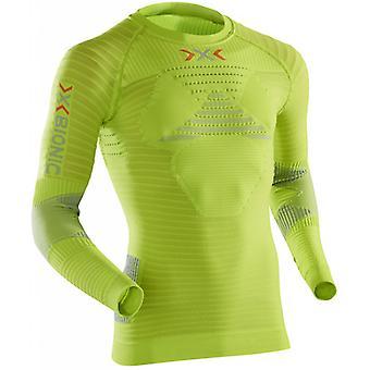 X-BIONIC Herren Laufshirt Effektor Running Powershirt Long Lime - O020570-E173
