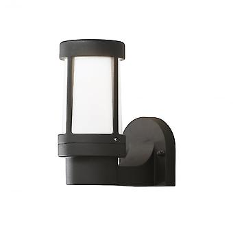 Konstsmide Siena Black Exterior Wall Light