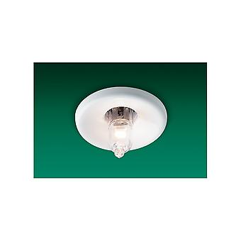 Firstlight minimalistisk hvidt miniature forsænket Downlight