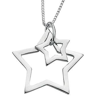 925 Silver Stars Necklace