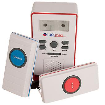 2-in-1 Home Care Alarm and Wireless Doorbell