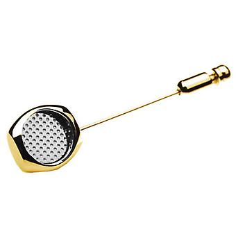 Denisonboston Skimm Classic Punkt Lapel Pin - Gold