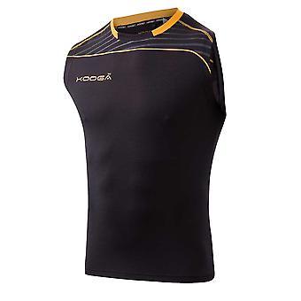 KOOGA rugby dri-lite vest [black/yellow]